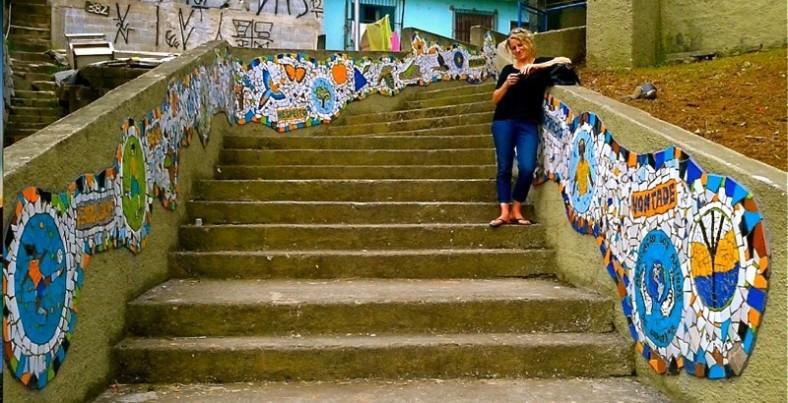 Sapopema Steps Sao Paulo Brazi