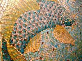 Fish Wall at Indo Bar - Whitechapel London UK