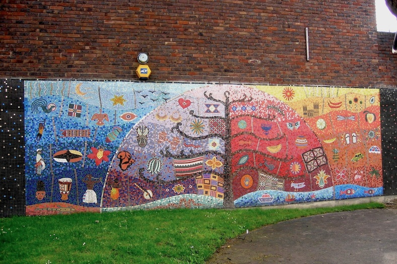 community centre wall