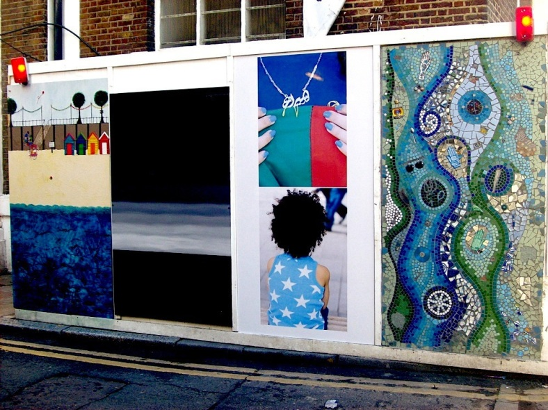 Overlay Hoardings Brick Lane