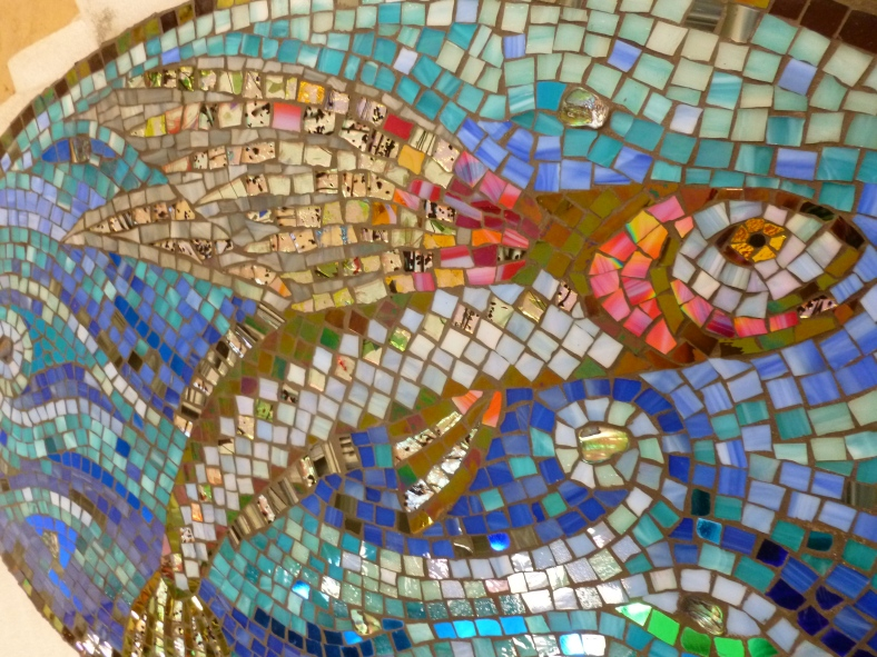 Flying fish detail