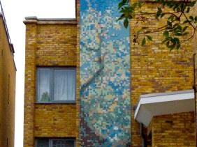 Pixelated Tree - Brixton Hill London
